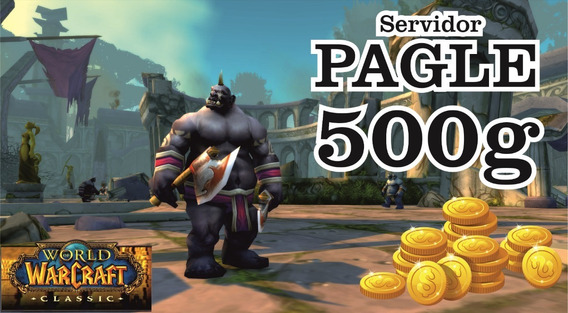 Gold Wow Classic Pagle 500g Ouro