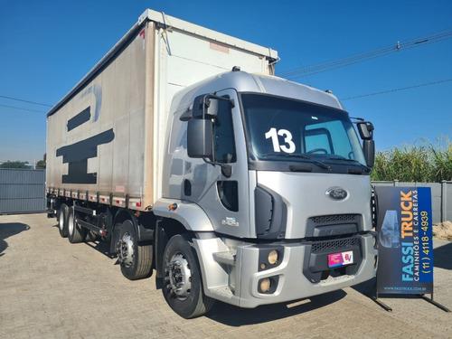 Imagem 1 de 14 de Ford Cargo 2429 8x2 Bitruck Sider 9,30mts Leito Ano 2013