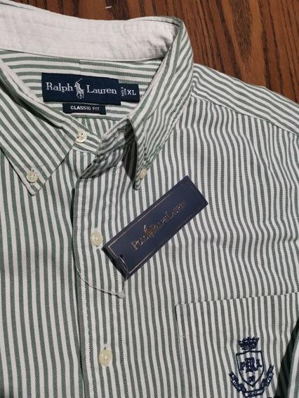 Camisa Polo Ralph Lauren Xl Original Rayas V. ( Lacoste, H&m