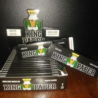 King Paper Branca 10 Caixas Com 20 Seda Smoking Brown Atac