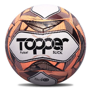 Bola De Futebol Oficial Futsal Topper Slick Ii Vermelha