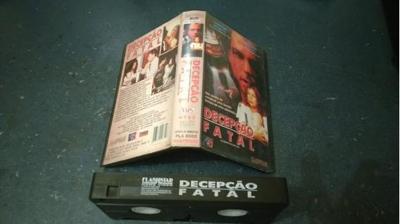 Filme Vhs - Decepção Fatal