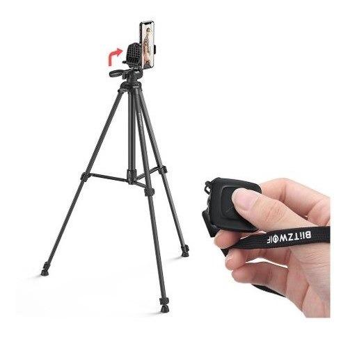 Tripé Blitzwolf Bs0 Pro Câmera Celular Controle Remoto 10m