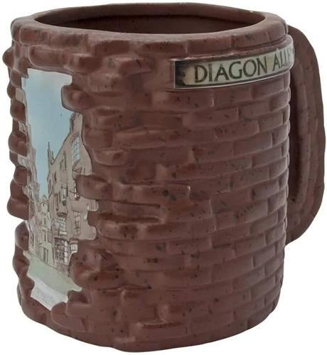 Imagen 1 de 4 de Taza Callejón Diagon Harry Potter