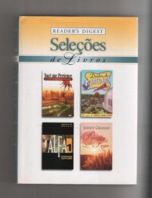 Lote 24 - Livro Seleções Readers Digest (4 Títulos)