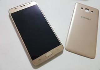 Samsung Galaxy J7 Metal Dourado 16gb + Cartão De 8gb (usado)