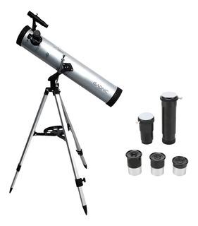 Telescopio Reflector Gadnic 700×76 Original Garantia TriPod