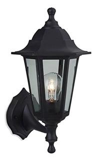 Lámpara Aplique Farol Colonial Pvc Hexagonal Exterior E27