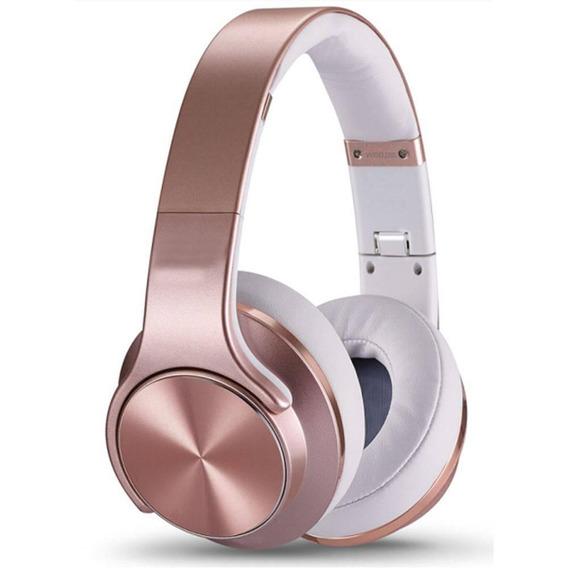 Headphone Maxprint Maxturn Bt/fm/msd - Rosa