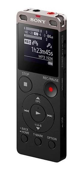 Gravador De Voz Sony Icd-ux560f Com 4gb Para Até 159 Horas