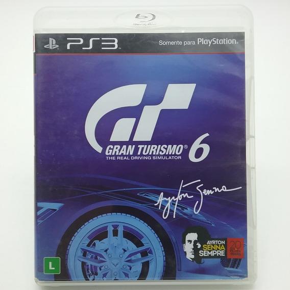 Gran Turismo 6 Ps3 Mídia Física Original Dublado Br Ótimo