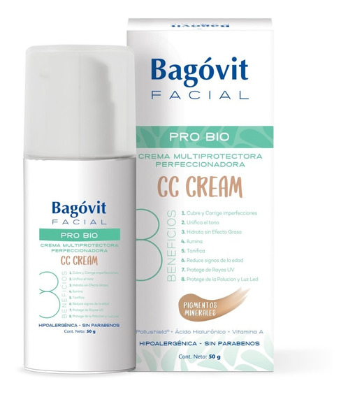 Bagovit Facial Pro Bio Crema Multiprotectora Perfeccionadora