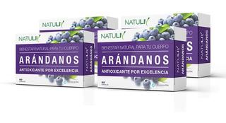 Arandanos 60 Caps Natuliv Antioxidante Vitamina C X 4 Un