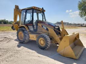 Retroexcavadora Caterpillar 416c 4x4 Cabina Cerrada Extensio