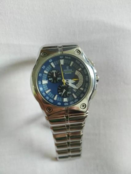 Relógio Festina Wr 100 M Blue Version Chronograph