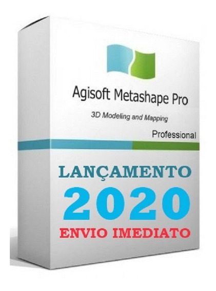 Agisoft Metashape 1.6.1 Build - 64bits - Lançamento