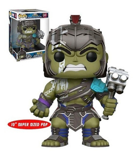Funko Pop Marvel #241 Thor Ragnarok Hulk 10 Pulgadas Nortoys