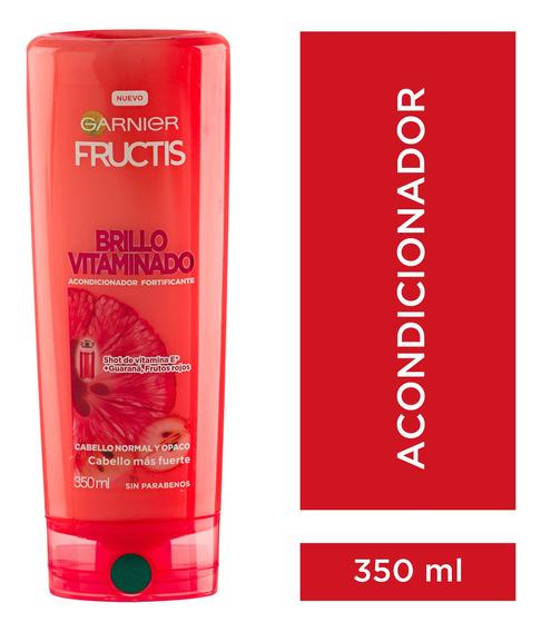 Enjuague Cabello Opaco Brillo Vitaminado 350 Fructis Garnier