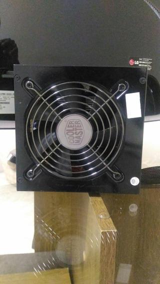 Fonte Modular Cooler Master 620w Real