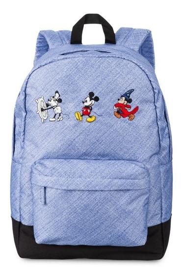 Mochila Escolar Mickey Original Disney Store Edição Limitada