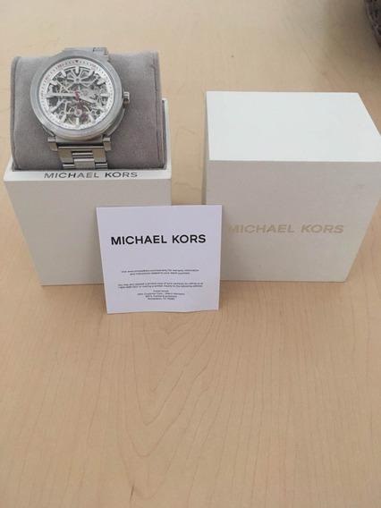 Reloj De Hombre Michael Kors Halo Silver-tone Mk9034