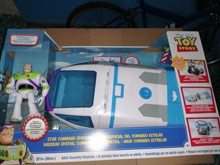 Toy Story 4 Nave Espacial Buzz Lightyear Con Figura Original