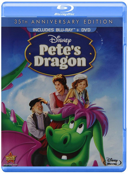 Mi Amigo El Dragon Pete Dragon 1977 Pelicula Blu-ray + Dvd