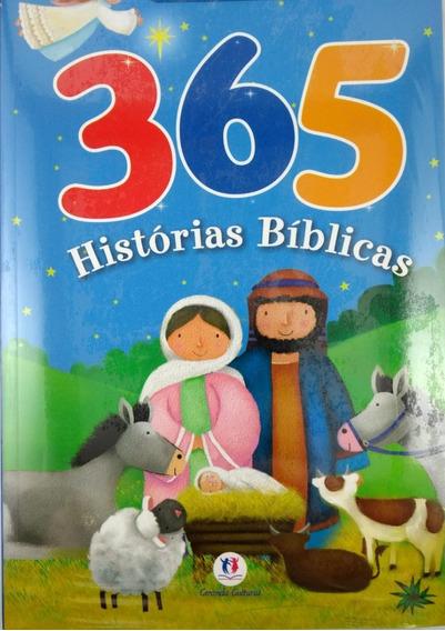 Livro Infantil 365 Histórias Bíblicas