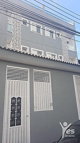 Imagem 1 de 9 de Ref.: 2282 - Apartamento Sem Condomínio, 02 Quartos Sendo 01 Suíte, 01 Vaga, Utinga, Santo André - 2282