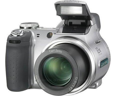 Câmera Sony Dsc-h5 7.2 Mega Pixels Zoom 12x