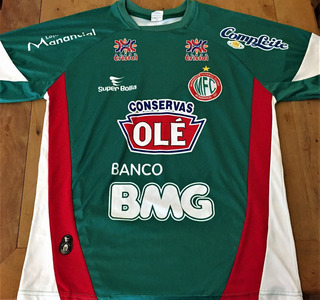 Camisa Morrinhos Usada Jogo Goianense 2010