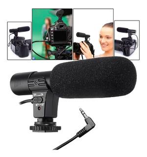 Microfono Cámara Profesional Studio Vídeo Estéreo Mic - 01