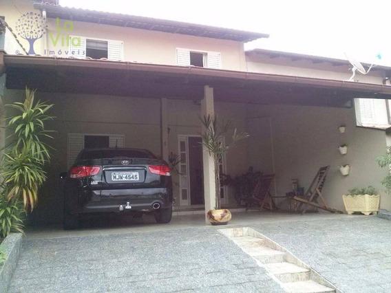 Sobrado Residencial À Venda, Asilo, Blumenau. - Ca0170
