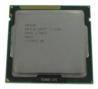 Procesador Intel Core i5-2500 4 núcleos 32 GB