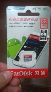 Cartão De Memoria Sd Sdhc Uhs1 Sandisk Ultra 32gb - Original