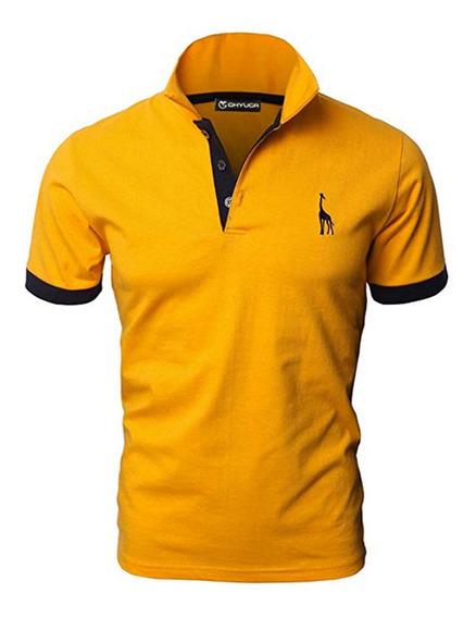 Polos Hombre Manga Corta Deportes Golf Tenis Camisetas