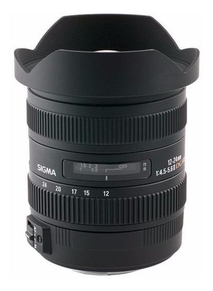Lente Sigma Sony 12-24mm F4.5-5.6 Il Dg