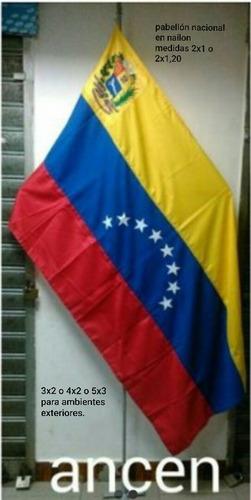 Bandera  De Venezuela Nylon  2x1  En $
