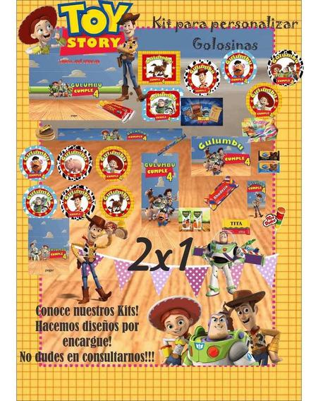 Kit Imprimible Toy Story 2x1, Imprimi En Tu Casa!!!!