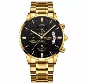 Relógio Nibosi Masculino Anti-risco 100% Funcional - Luxuoso