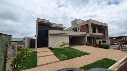 Imagem 1 de 30 de Casa Em Condomínio - 4 Suítes - Terras De Siena - Ribeirão Preto / Sp - Ca0376
