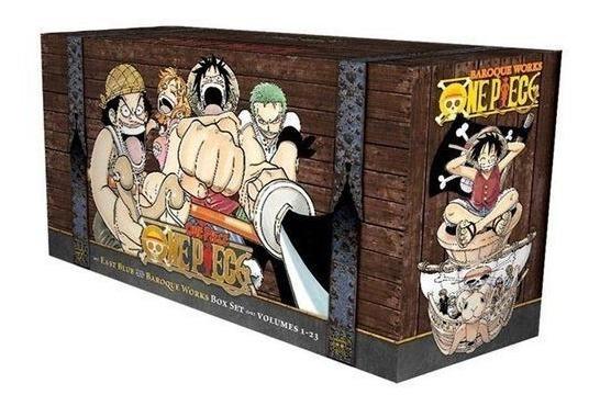 Box Set One Piece 1-23 - Oda, Eiichiro