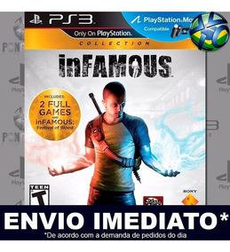 Infamous Collection 1 2 + Dlc Ps3 Mídia Digital Psn Promoção