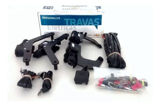 Kit De Trava Elétrica Do Novo Corsa 4 Portas 94713632