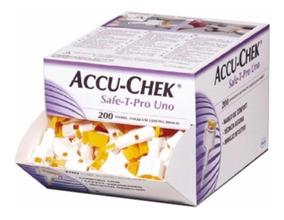 Accu-check Lancetas Retráctiles Safe-t-pro Uno