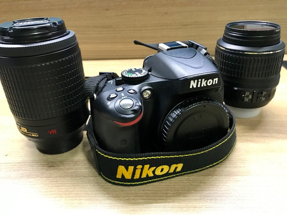 Nikon D5100. Lente Nikon Dx: Vr - Af-s Nikkor 55-200mm