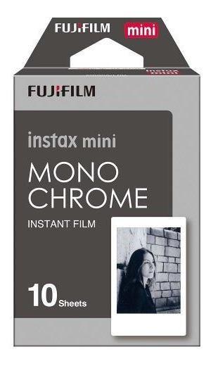 Filme Fujifilm Instax Mini Caixa Com 10 Fotos Monocromáticas