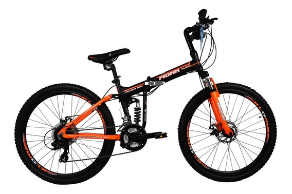 Bicicleta Klamp Monk Plegable De Doble Suspension