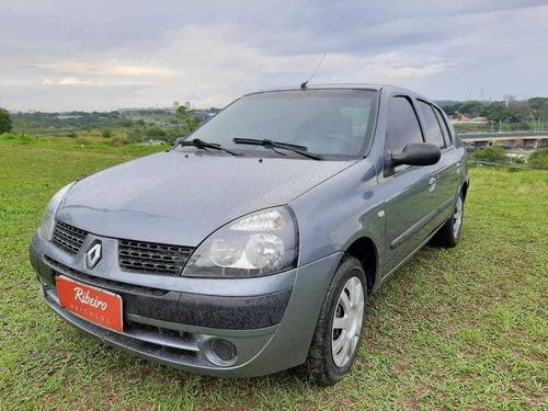 Imagem 1 de 10 de Renault Clio Sedan Privilege 1.6 16v Flex 2006 Completo