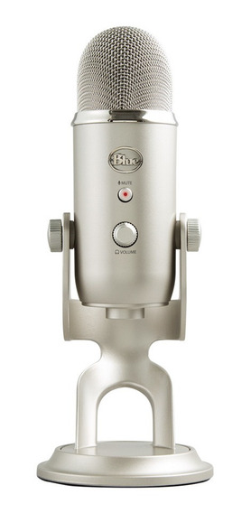 Micrófono Condensador Yeti Usb Para Estudio Podcast Blue